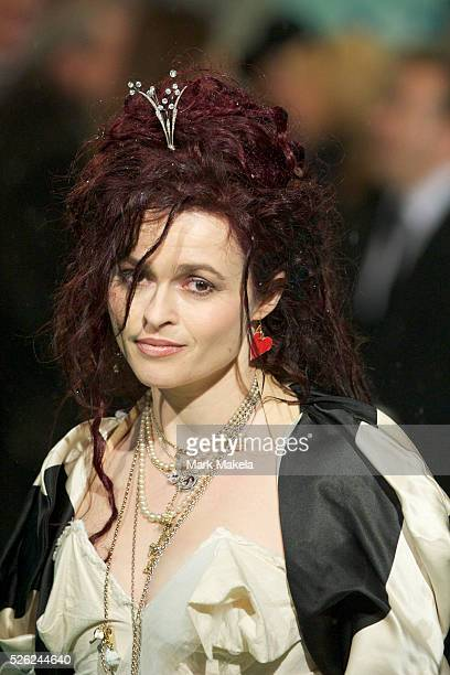 Helena Bonham Carter attends the Royal World Premiere of 'Alice in Wonderland' at the Odeon Leicester Square in London