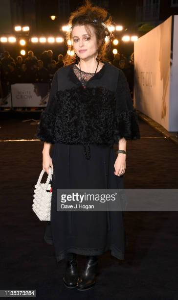 Helena Bonham Carter attends The White Crow UK Premiere held at The Curzon Mayfair on March 12 2019 in London England