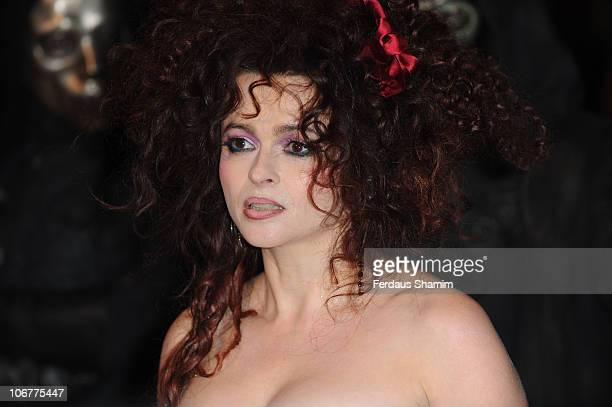 Helena Bonham Carter attends the world premiere of Harry Potter and The Deathly Hallows at Odeon Leicester Square on November 11 2010 in London...