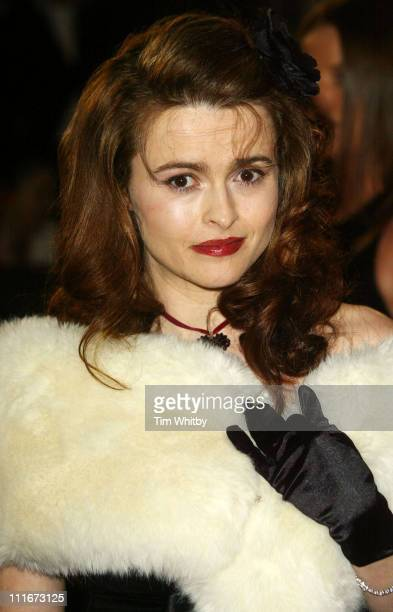 Helena Bonham Carter during 2004 BAFTA Awards Arrivals at The Odeon Leicester Square in London United Kingdom