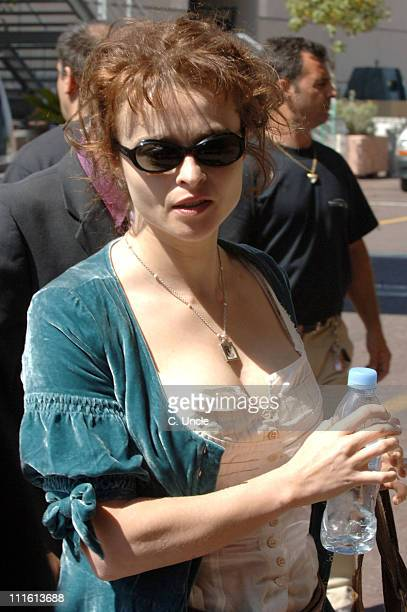 Helena Bonham Carter during 2006 Cannes Film Festival - Seen Around Cannes - Day 4 in Cannes, France.