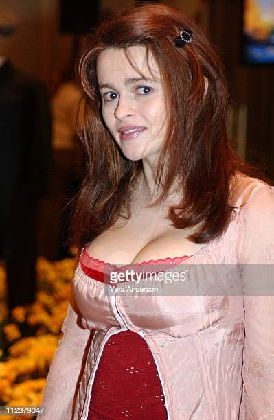 Helena Bonham Carter during 'Big Fish' Press Conference with Ewan McGregor Tim Burton Helena Bonham Carter and Albert Finney at WaldorfAstoria Hotel...