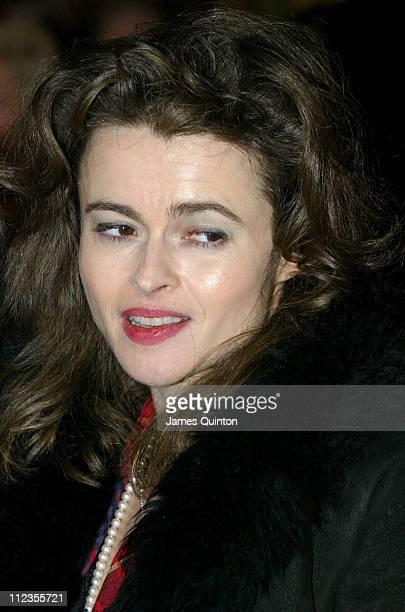 Helena Bonham Carter during Edward Scissorhands West End Premiere and Press Night Arrivals at Sadler's Wells Theatre in London Great Britain