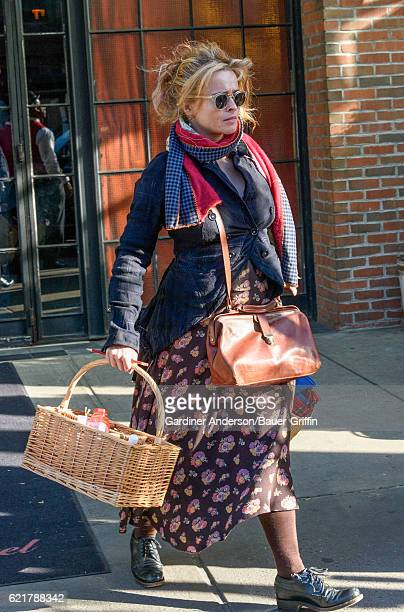 Helena Bonham Carter is seen on November 08 2016 in New York City