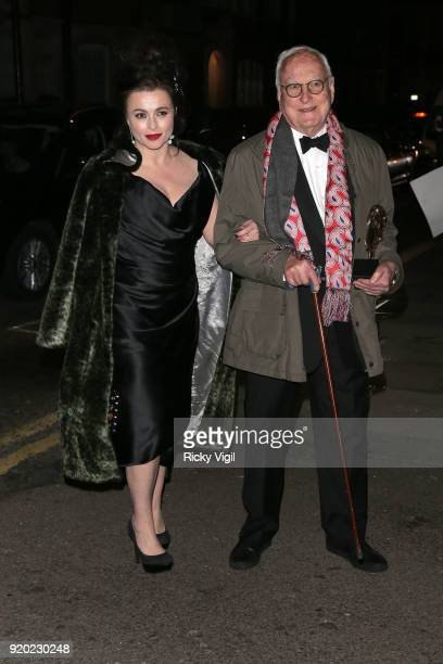 Helena Bonham Carter seen at BAFTAs official afterparty after attending the EE British Academy Film Awards at the Royal Albert Hall on February 18,...