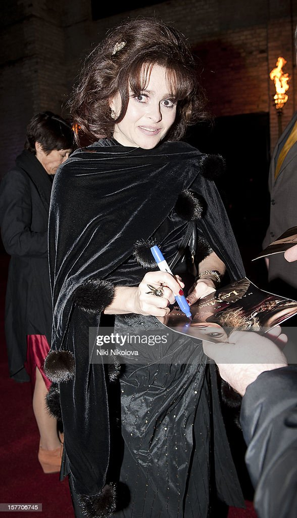 Helena Bonham Carter sighting on December 5, 2012 in London, England.