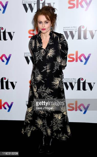 Helena BonhamCarter during Women in Film TV Awards 2019 at Hilton Park Lane on December 06 2019 in London England