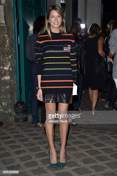 Helena Bordon arrives at Givenchy Fashion Show during Paris Fashion Week Womenswear SS 2015 on September 28 2014 in Paris France