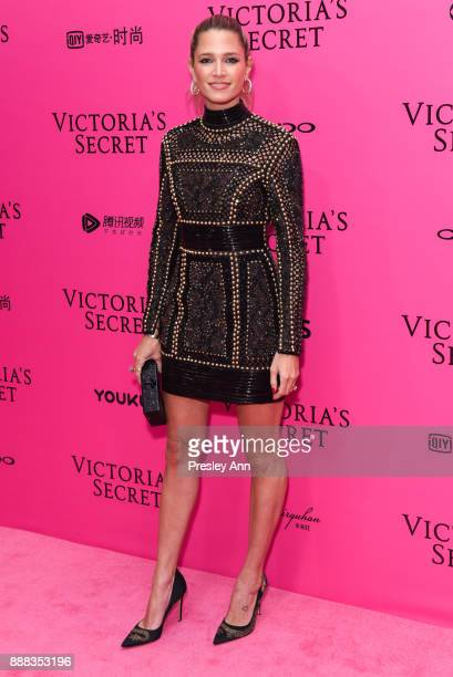 Helena Bordon attends 2017 Victoria's Secret Fashion Show In Shanghai Pink Carpet Arrivals at MercedesBenz Arena on November 20 2017 in Shanghai China