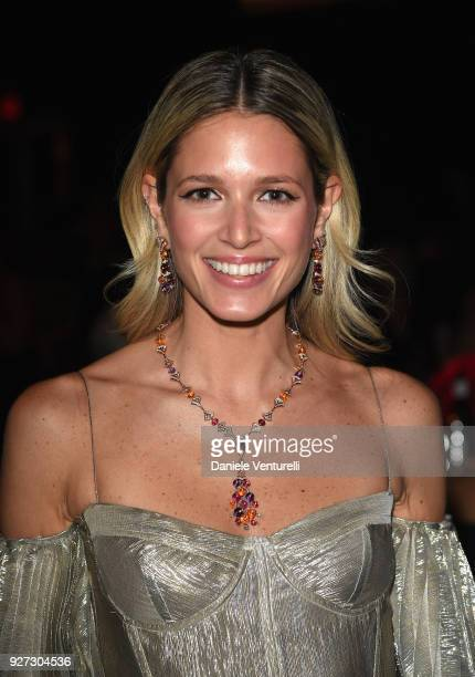 Helena Bordon attends Elton John AIDS Foundation 26th Annual Academy Awards Viewing Party at The City of West Hollywood Park on March 4 2018 in Los...