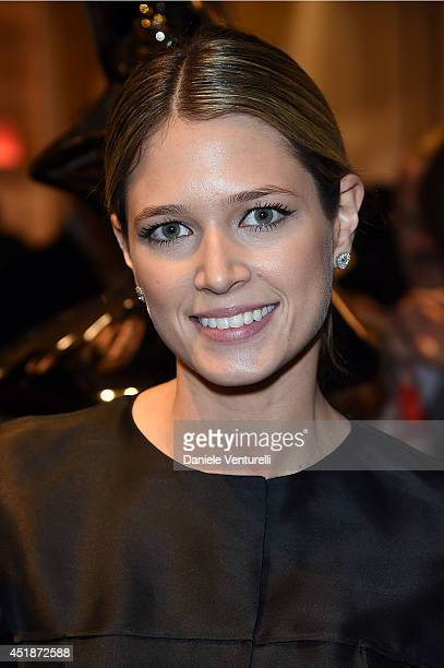 Helena bordon attends Fendi Karlito Cocktail during the Paris Fashion Week HauteCouture Fall/Winter 20142015 on July 8 2014 in Paris France