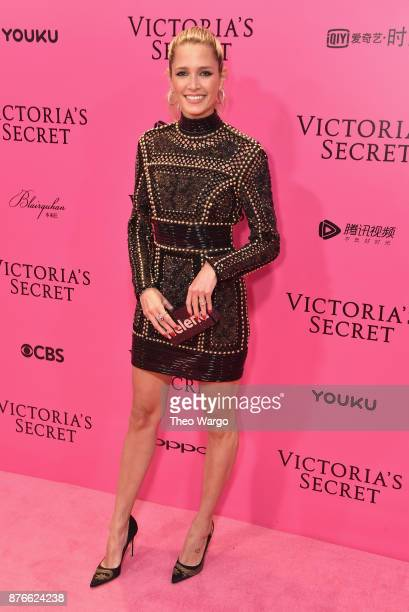 Helena Bordon attends the 2017 Victoria's Secret Fashion Show In Shanghai Pink Carpet Arrivals at MercedesBenz Arena on November 20 2017 in Shanghai...