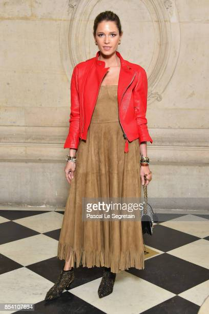 Helena Bordon attends the Christian Dior show as part of the Paris Fashion Week Womenswear Spring/Summer 2018 on September 26 2017 in Paris France