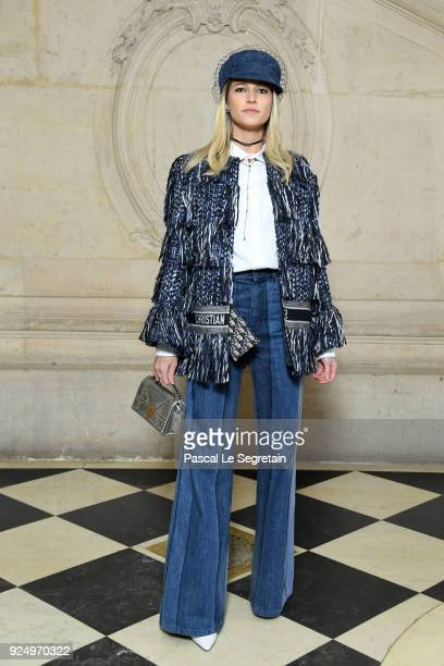 Helena Bordon attends the Christian Dior show as part of the Paris Fashion Week Womenswear Fall/Winter 2018/2019 on February 27 2018 in Paris France