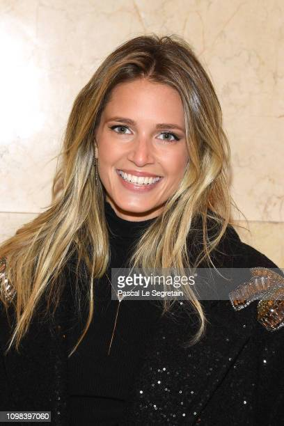 Helena Bordon attends the Elie Saab Haute Couture Spring Summer 2019 show as part of Paris Fashion Week on January 23 2019 in Paris France
