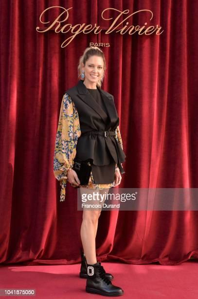 Helena Bordon attends the Roger Vivier Presentation Spring/Summer 2019 during Paris Fashion Week on September 27 2018 in Paris France