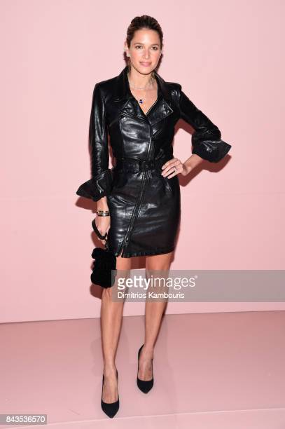 Helena Bordon attends the Tom Ford Spring/Summer 2018 Runway Show at Park Avenue Armory on September 6 2017 in New York City