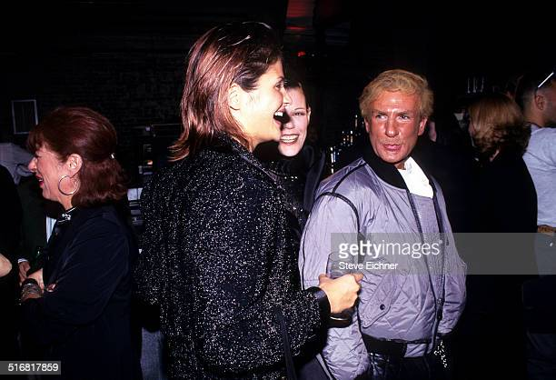 Helena Christensen and Claude Montana at the Tunnel New York 1994