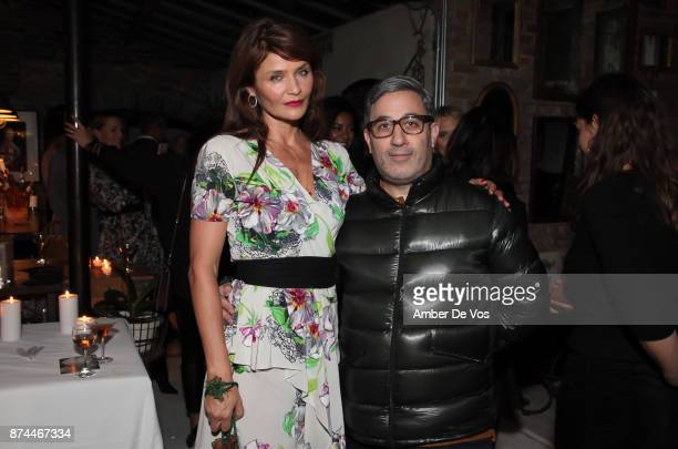 Helena Christensen and Jason Weinberg attend Strangelove NYC's Helena Christensen and Elizabeth Gaynes Host Party Celebrating Launch of New Fragrance...