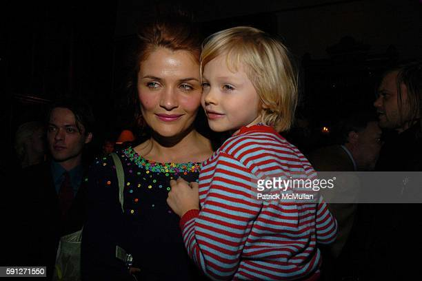 Helena Christensen and Mingus Lucien Reedus attend Preview of EDUN's Premier Autumn/Winter 2005 Collection Hosted by Ali Bono and Rogan at The...