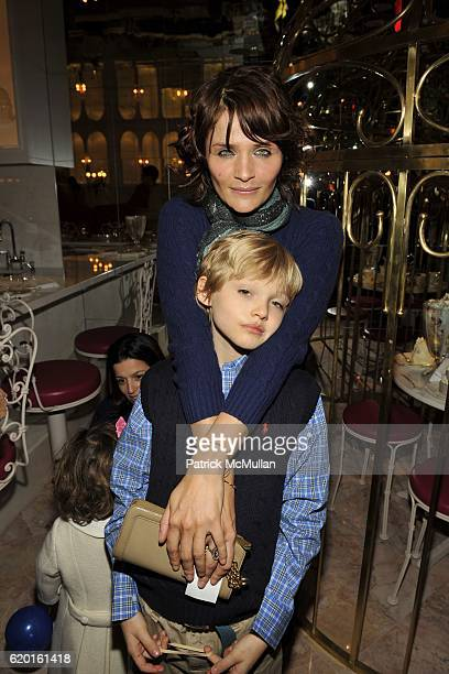 Helena Christensen and Mingus Reedus attend An Afternoon to Celebrate The new Ralph Lauren Childrens Store Hosted by Julie Janklow and Aerin Lauder...