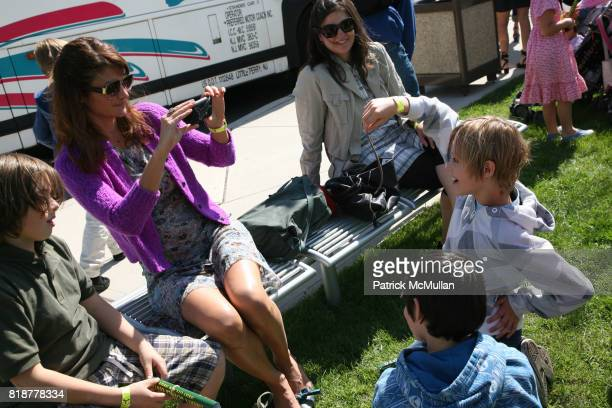 Helena Christensen and Mingus Reedus attend MARIA SNYDER'S ECO BOYS and GIRLS at Liberty Science Center on April 24 2010 in Jersey City NJ