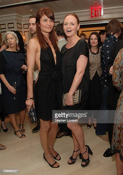 Helena Christensen and Stella McCartney during Stella McCartney Event at Bergdorf Goodman May 3 2007 at Bergdorf Goodman in New York City New York...