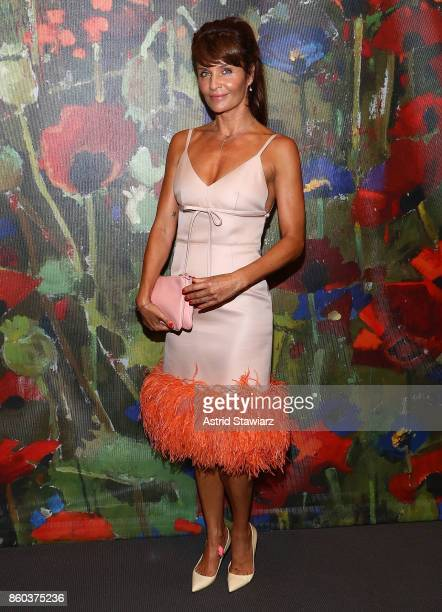 Nude art auction and party getty images helena christensen attends 2017 take home a nude art party and auction at sothebys voltagebd Image collections