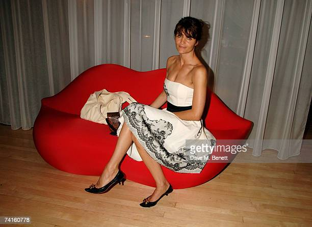 Helena Christensen attends a charity evening in aid of CLIC Sargent at the Sanderson Hotel on May 15 2007 in London England