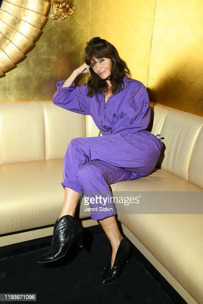 """Helena Christensen attends Anna Wintour With Gucci And The Cinema Society Host The After Party For """"American Woman"""" on December 12, 2019 in New York..."""