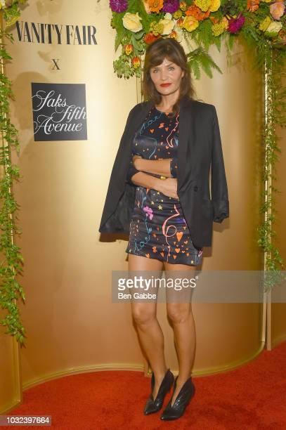 Helena Christensen attends as Vanity Fair and Saks Fifth Avenue celebrate Vanity Fair's Best-Dressed 2018 at Manhatta on September 12, 2018 in New...
