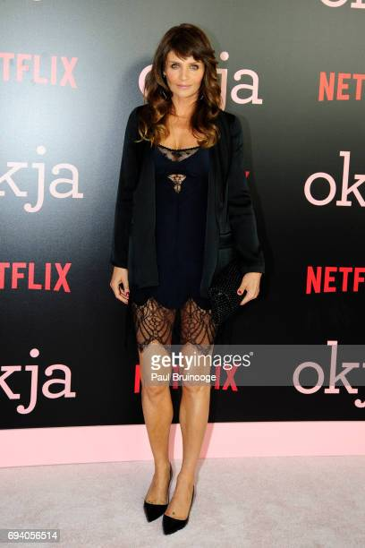 Helena Christensen attends Netflix hosts the New York Premiere of 'Okja' at AMC Lincoln Square Theater on June 8 2017 in New York City