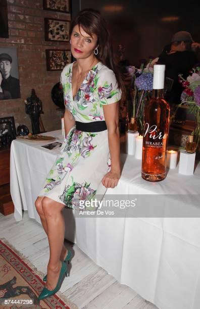 Helena Christensen attends Strangelove NYC's Helena Christensen and Elizabeth Gaynes Host Party Celebrating Launch of New Fragrance - lostinflowers...