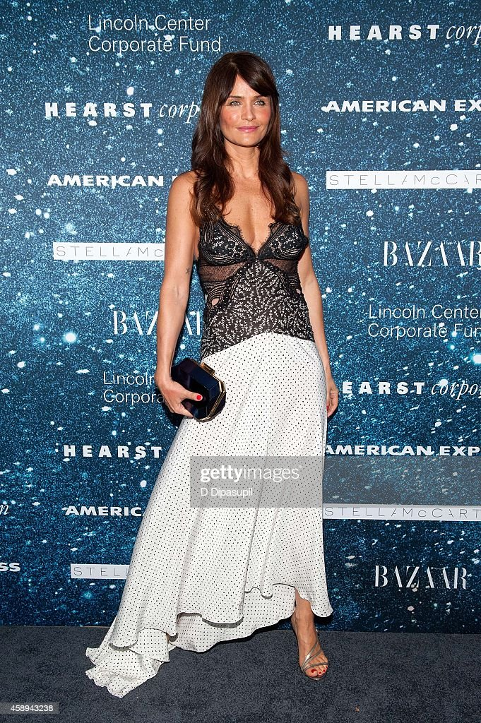 Helena Christensen attends the 2014 Women's Leadership Award Honoring Stella McCartney at Alice Tully Hall at Lincoln Center on November 13, 2014 in New York City.