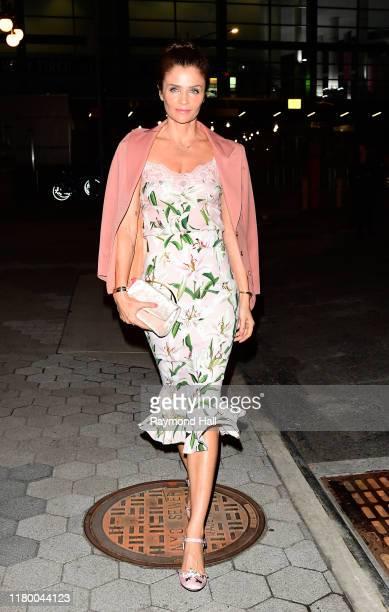 Helena Christensen attends the CFDA/Vogue Fashion Fund on November 4 2019 in New York City