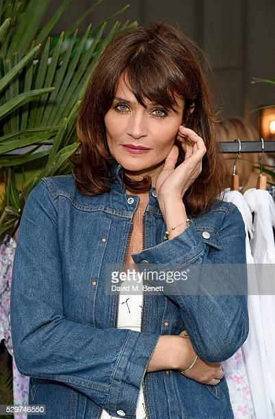 Helena Christensen attends the Helena Christensen for Thomson Sensatori event at Ham Yard Hotel on May 9 2016 in London England