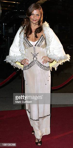 Helena Christensen Attends The 'Once Upon A Time' Fairytale Show At The Parken Stadium Copenhagen During The Hans Christian Andersen 200Th...