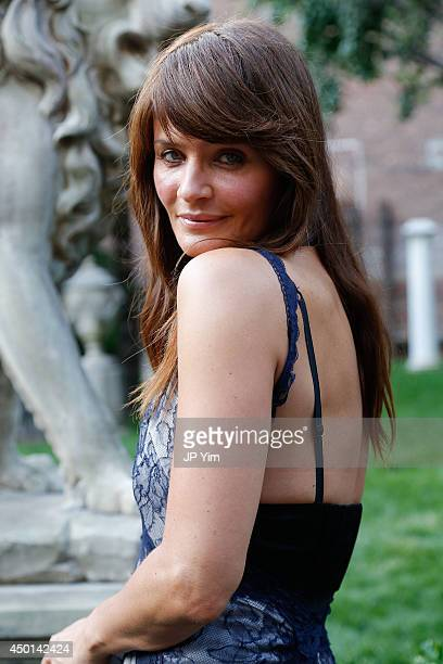 Helena Christensen attends the Stella McCartney Spring 2015 Presentation at Elizabeth Street Gardens on June 5 2014 in New York City