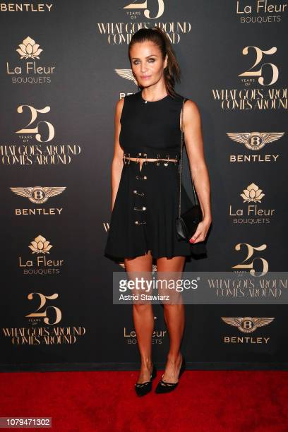 Helena Christensen attends What Goes Around Comes Around 25th Anniversary Celebration At The Versace Mansion With a Retrospective Tribute To Gianni...