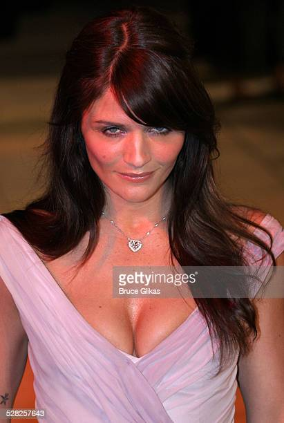 Helena Christensen during 2006 Vanity Fair Oscar Party at Morton's in West Hollywood California United States