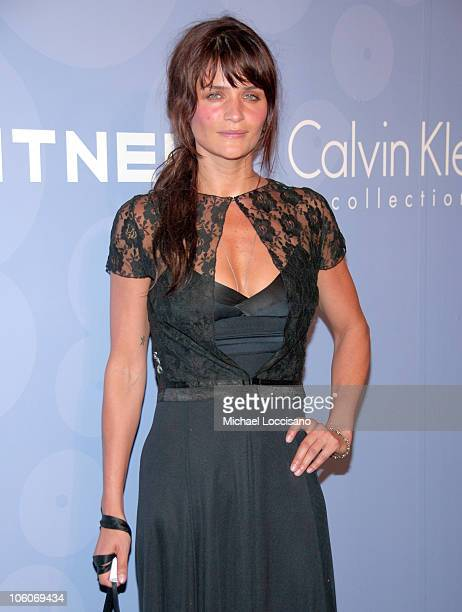 Helena Christensen during ART PARTY Hosted by The Whitney Contemporaries at Skylight Studis in New York City New York United States