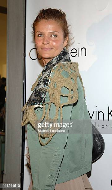 """Helena Christensen during Calvin Klein, Inc. And Bryan Adams Host the Launch of His New Photography Book """"American Women"""" at The Calvin Klein..."""
