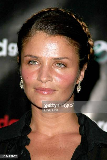 Helena Christensen during Helena Christensen An Eye For Beauty Private View at Sony Ericsson Proud Gallery in London Great Britain