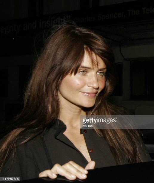 Helena Christensen during Helena Christensen Sighting at the Ivy in London March 22 2006 at The Ivy Restaurant in London Great Britain
