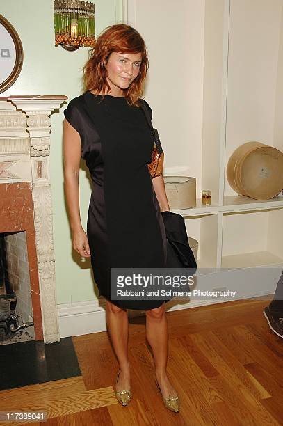 Helena Christensen during Helio Presents an After Party to Celebrate JovovichHawk's Spring 2007 Collection at Private Residence in New York City New...
