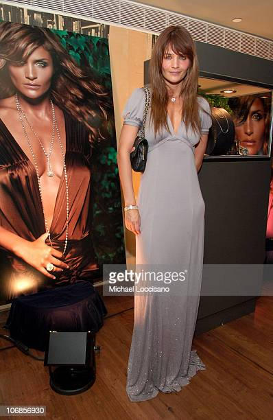 Helena Christensen during Jacob Co and Helena Christensen Celebrate the New Ad Campaign and Ladies Fine Jewelry Collection at The SoHo House in New...
