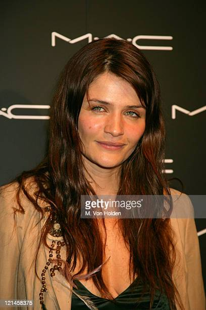 Helena Christensen during Olympus Fashion Week Fall 2006 - MAC Chinese New Year Party at Eyebeam in New York City, New York, United States.