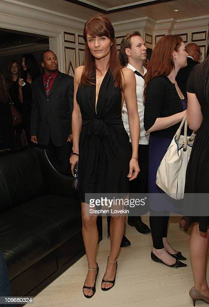 Helena Christensen during Stella McCartney Event at Bergdorf Goodman May 3 2007 at Bergdorf Goodman in New York City New York United States