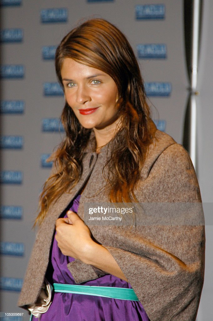 Helena Christensen during The ACLU Freedom Concert - Arrivals at Avery Fisher Hall at Lincoln Center in New York City, New York, United States.