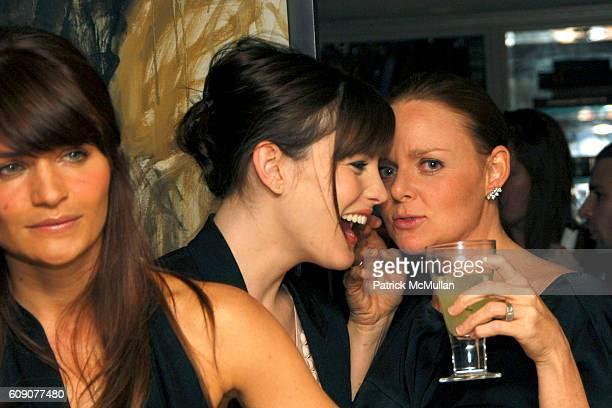 Helena Christensen Liv Tyler and Stella McCartney attend BERGDORF GOODMAN and STELLA MCCARTNEY Host Performance by ARCKID at Bergdorf Goodman on May...